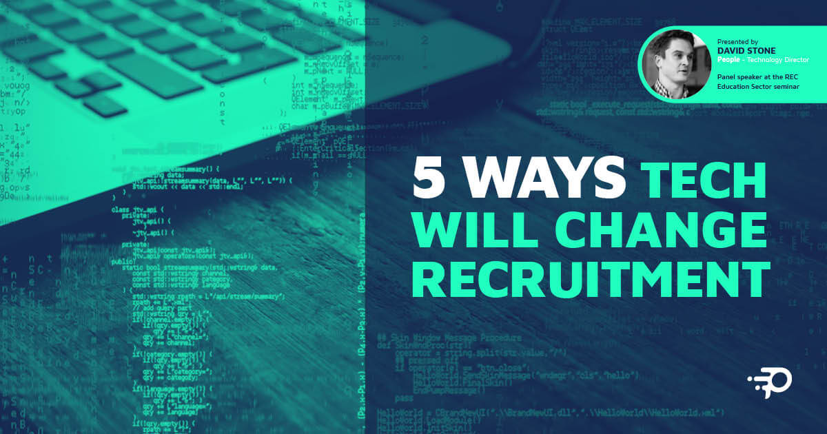 5 ways tech will change recruitment