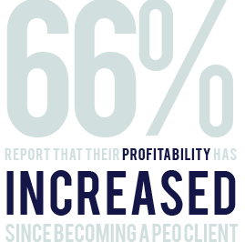 66% increased profitability using a PEO