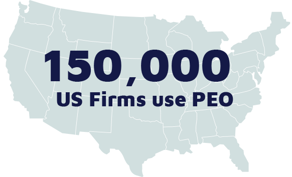 150,000 US forms use a PEO